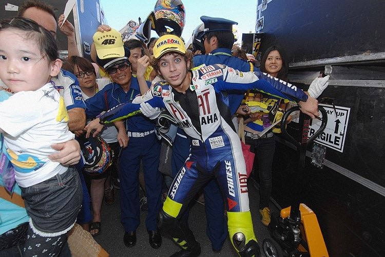Valentino Rossi in Motegi
