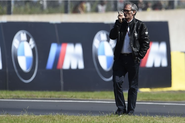 FIM Safety Officer Franco Uncini