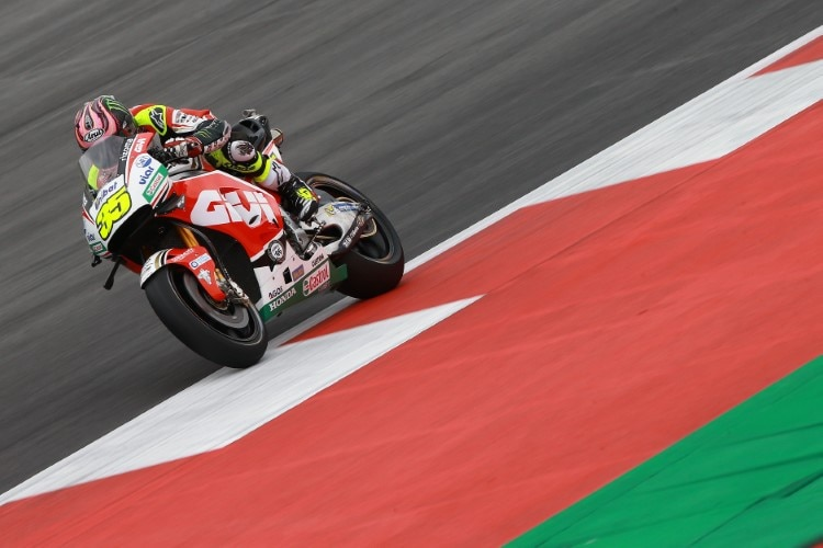 Cal Crutchlow in Spielberg