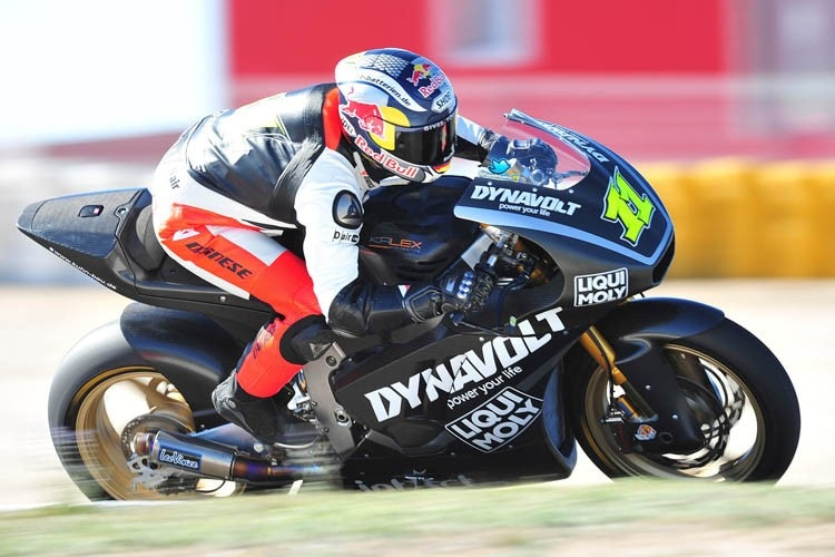 Sandro Cortese: Test in Almeria