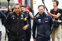 Cyril Abiteboul und Christian Horner