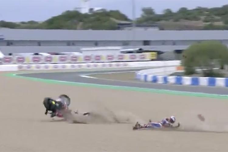 Alvaro Bautista (Honda): Der nächste Highspeed-Crash