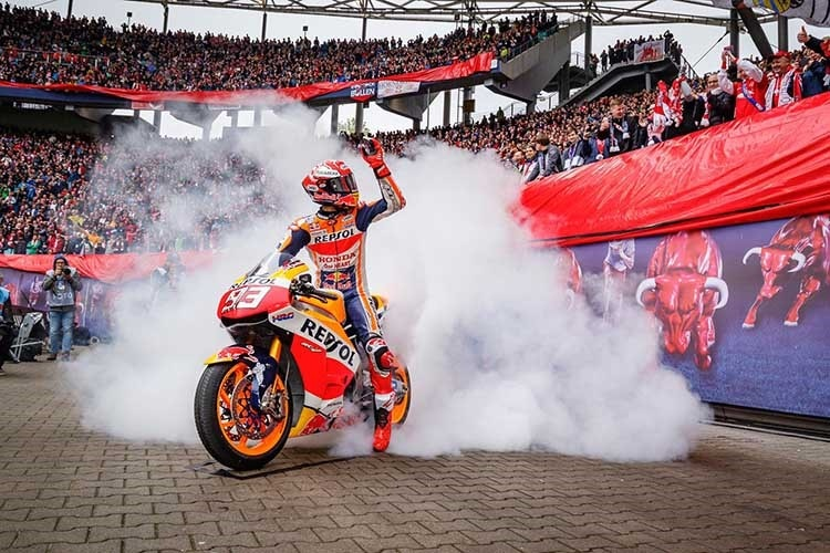 Marc Márquez: Burn-outs in Leipzig