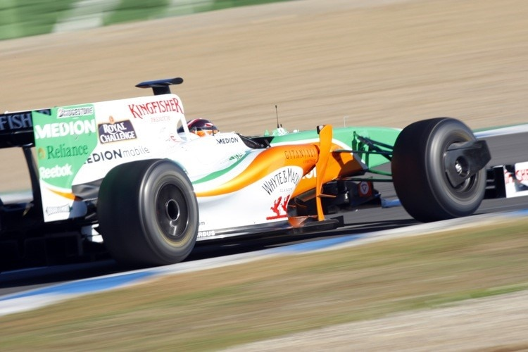 Hildebrandt im Force India