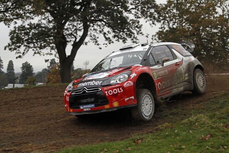 Petter Solberg in Wales