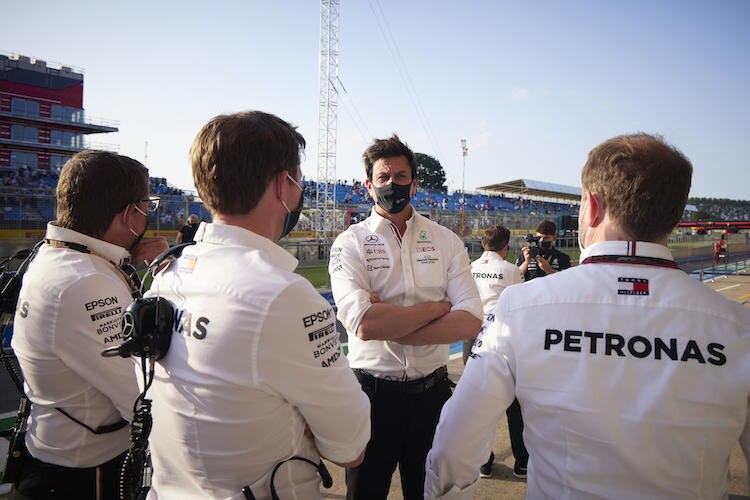 Toto Wolff (Mercedes): «Wir sind der Herausforderer»