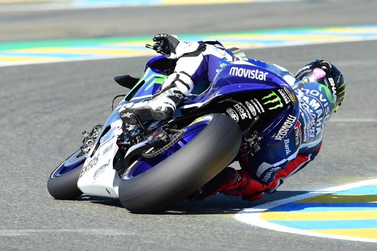 Jorge Lorenzo in Le Mans