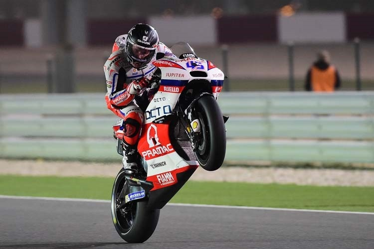 Scott Redding auf der Ducati GP15