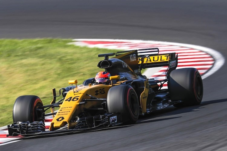 Robert Kubica beim Hungaroring-Test