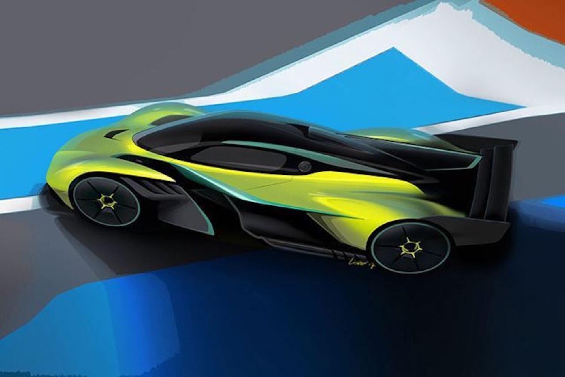 Aston Martin Valkyrie Amr Pro 400 Km H Schnell Formel 1 Speedweek Com