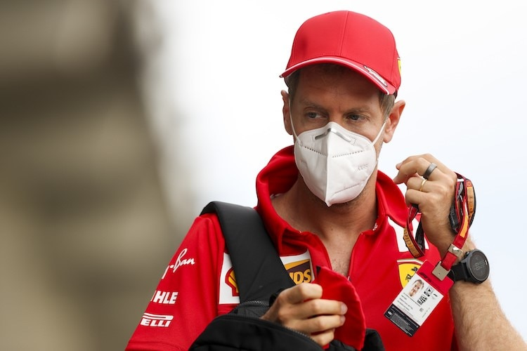 Sebastian Vettel am Hungaroring