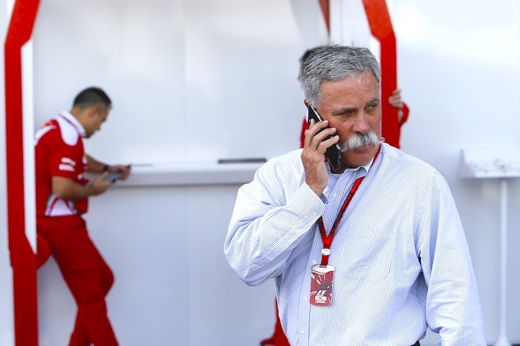 Formel-1-CEO . Chase Carey