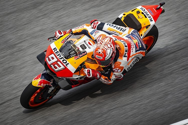 Marc Márquez in Sepang