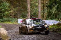 Petter Solberg bei seiner Abschiedstour in Wales
