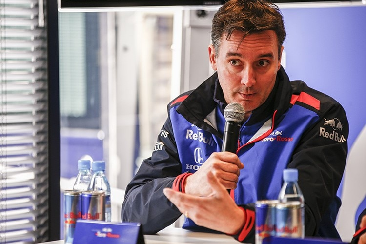 James Key, Technikchef von Toro Rosso