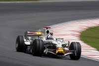 David Coulthard in Interlagos 2008