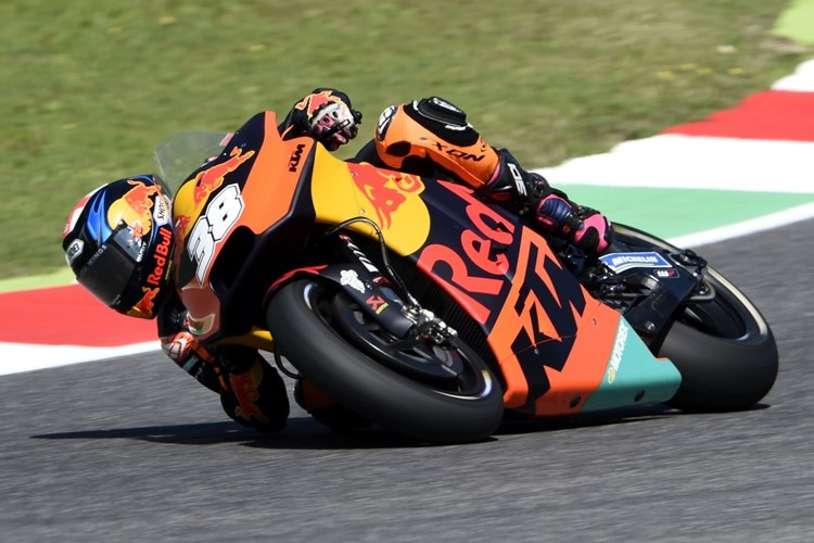 Bradley Smith (Red Bull KTM) kassierte in Mugello drei Punkte