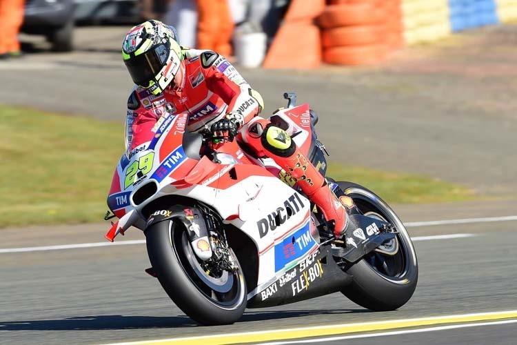 Andrea Iannone in Le Mans