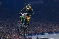 Austin Forkner gewann das 'triple crown' event in Detroit