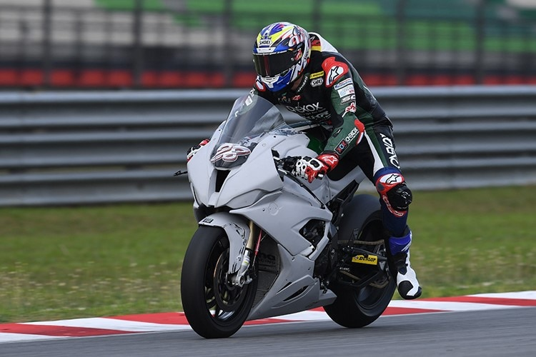 Reiterberger in Sepang