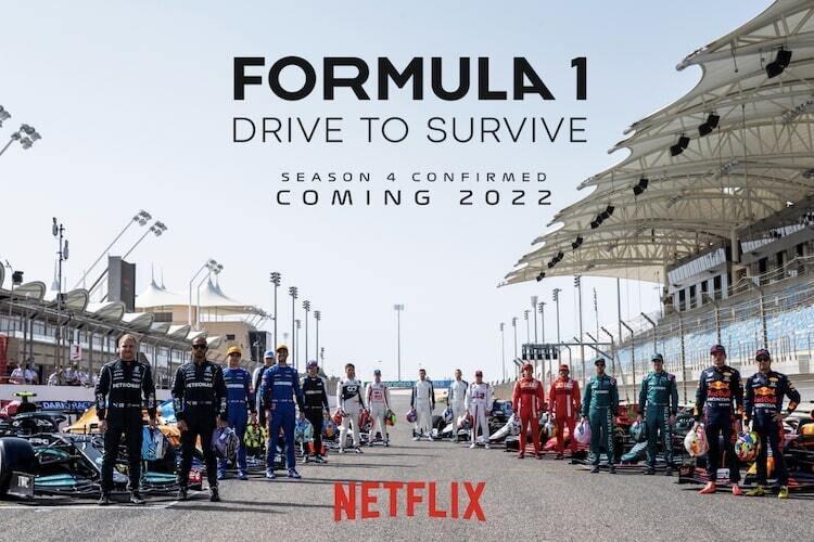 Bestätigt: Netflix mit Staffel 4 von Drive to Survive