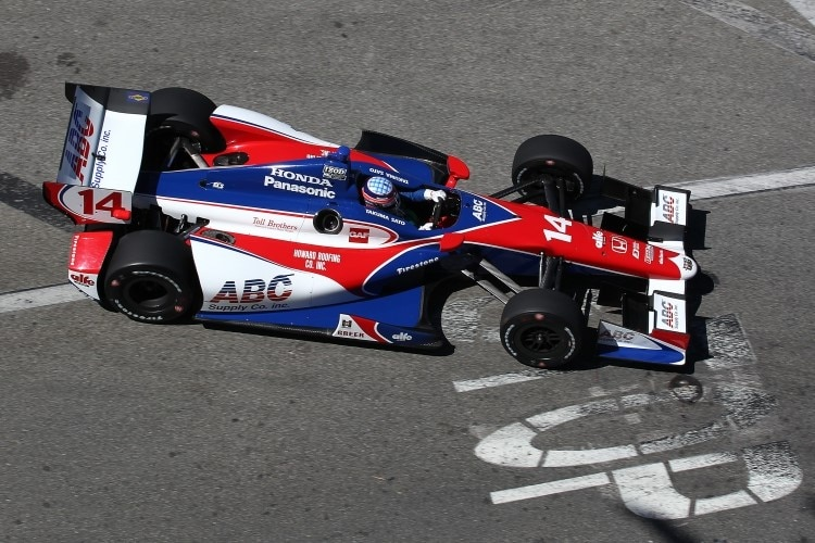 Takuma Sato überrascht in Long Beach