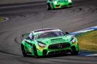 Pole-Position bei der ADAC GT4 Germany in Hockenheim für den Mercedes-AMG GT4 von HP Racing International