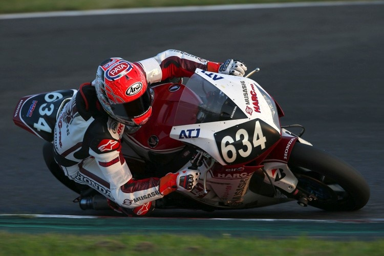 Supersport-Weltmeister Michael van der Mark 2014 in Suzuka