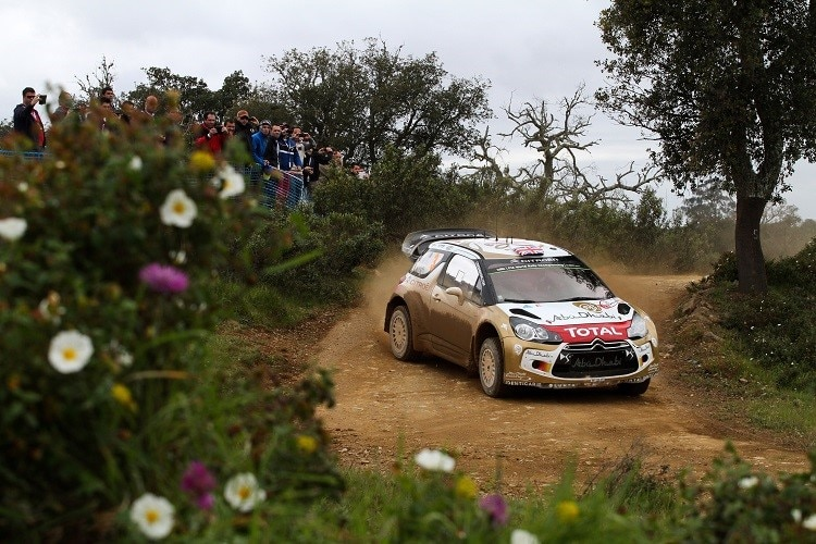 Kris Meeke in Portugal