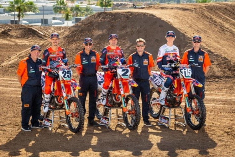 Das Red Bull KTM Werksteam