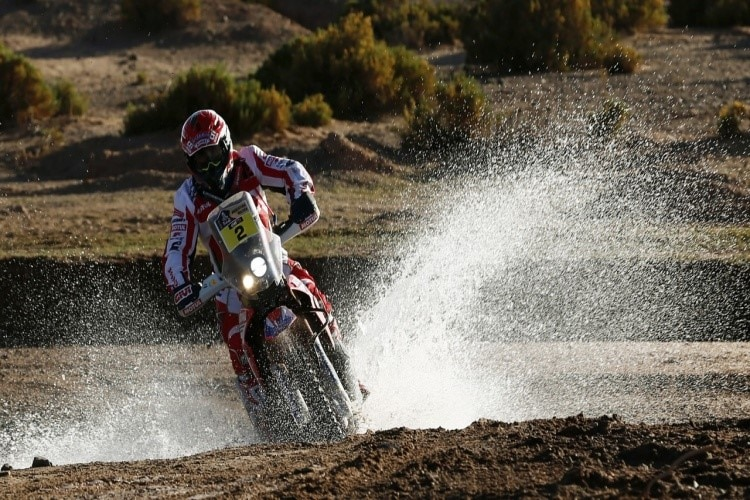 Dakar Moto 2016, c Honda Racing Corporation