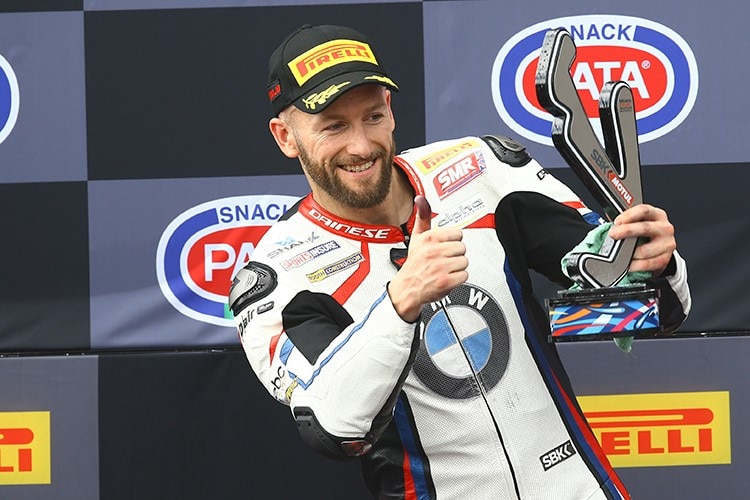 2019 brauste Tom Sykes viermal aufs Podest