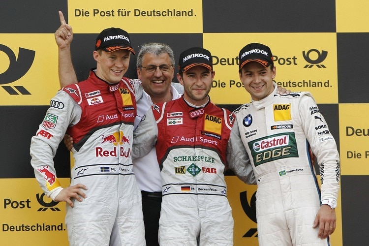 Das Podium in Moskau