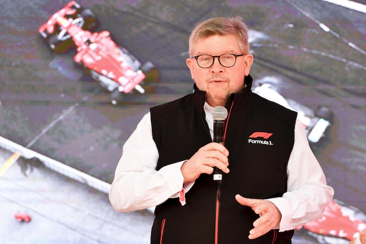 Ross Brawn in Melbourne 2019