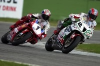 Das Duell Bayliss gegen Edwards in Imola 2002 war grandios