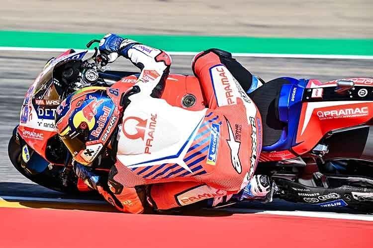 Jorge Martin en Aragon : 5ème place