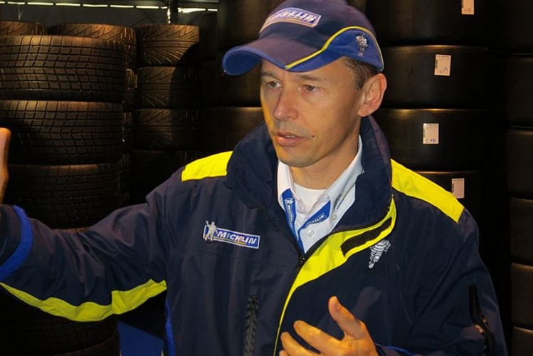 Michelin-Technical-Director Nicolas Goubert