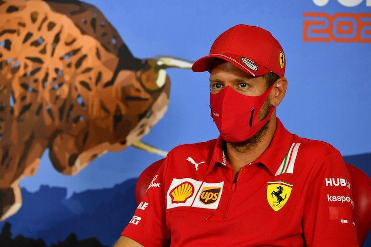 Sebastian Vettel am Red Bull Ring