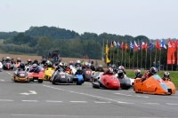 Start zum Saisonfinale der Internationalen Sidecar Trophy