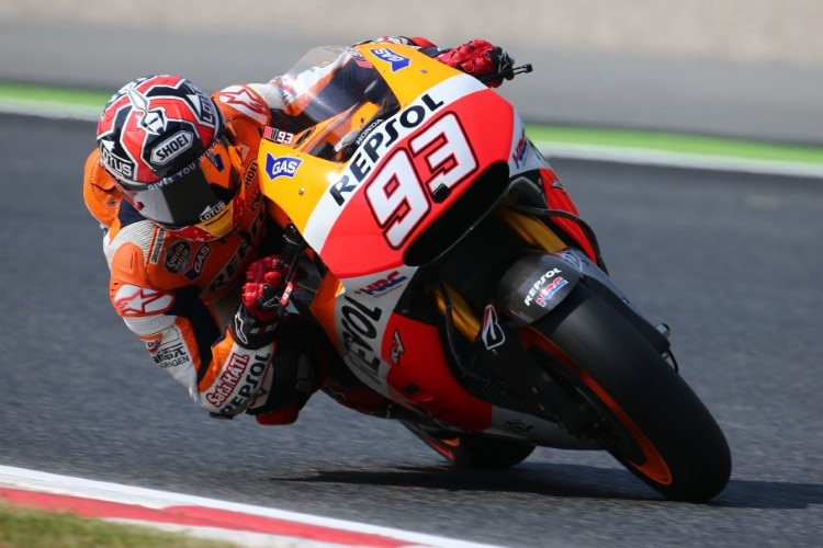 Marc Márquez im Barcelona-Training