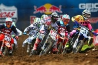 Aaron Plessinger (#23) gewann in Muddy Creek beide Starts