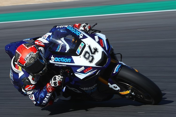 Jonas Folger in Estoril