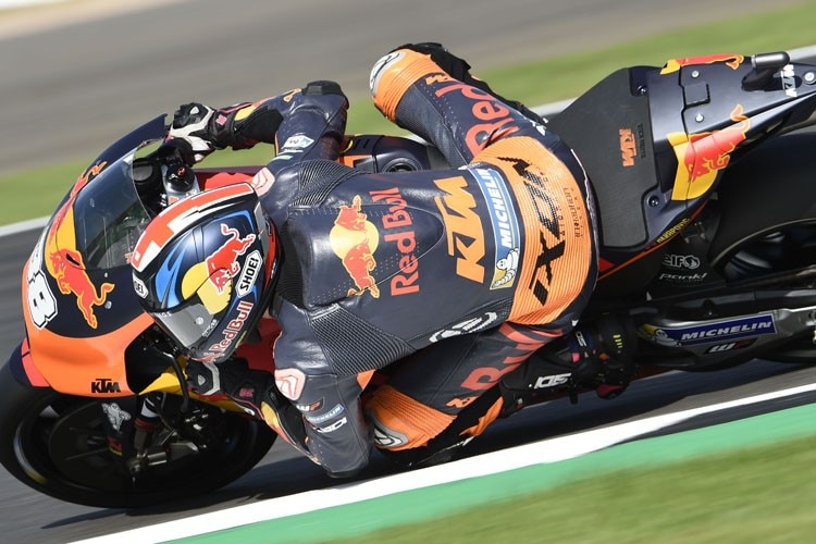 Bradley Smith im FP1 in England