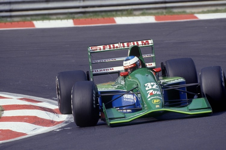 Michael Schumacher in Belgien 1991