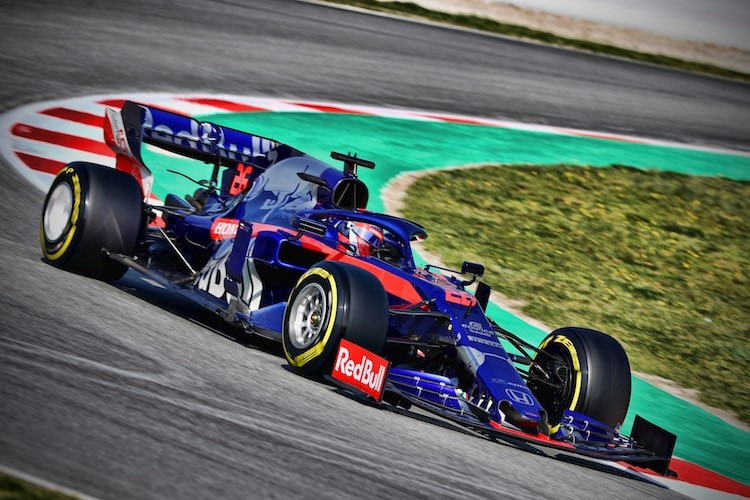 So trat Toro Rosso 2019 an