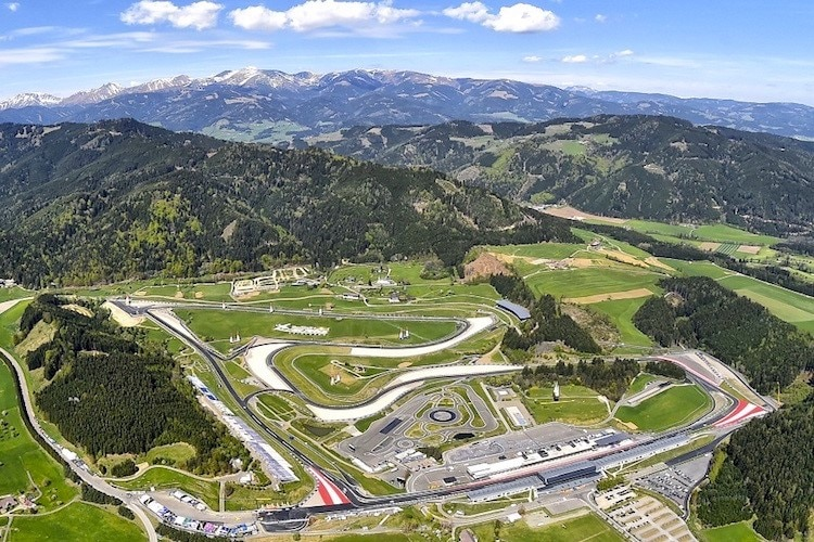Der Red Bull Ring in der Steiermark