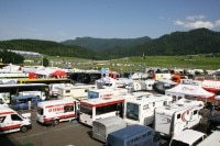 IDM Paddock am Red Bull Ring: Hickhack