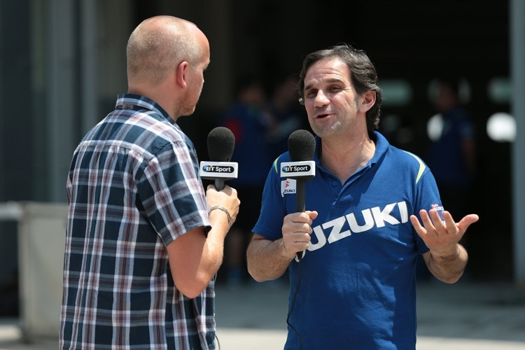 Suzuki-Teammanager Davide Brivio im Interview
