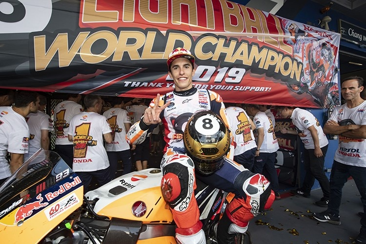 Weltmeister Marc Marquez