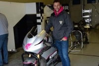 Randy Krummenacher beim JiR-Test in Jerez